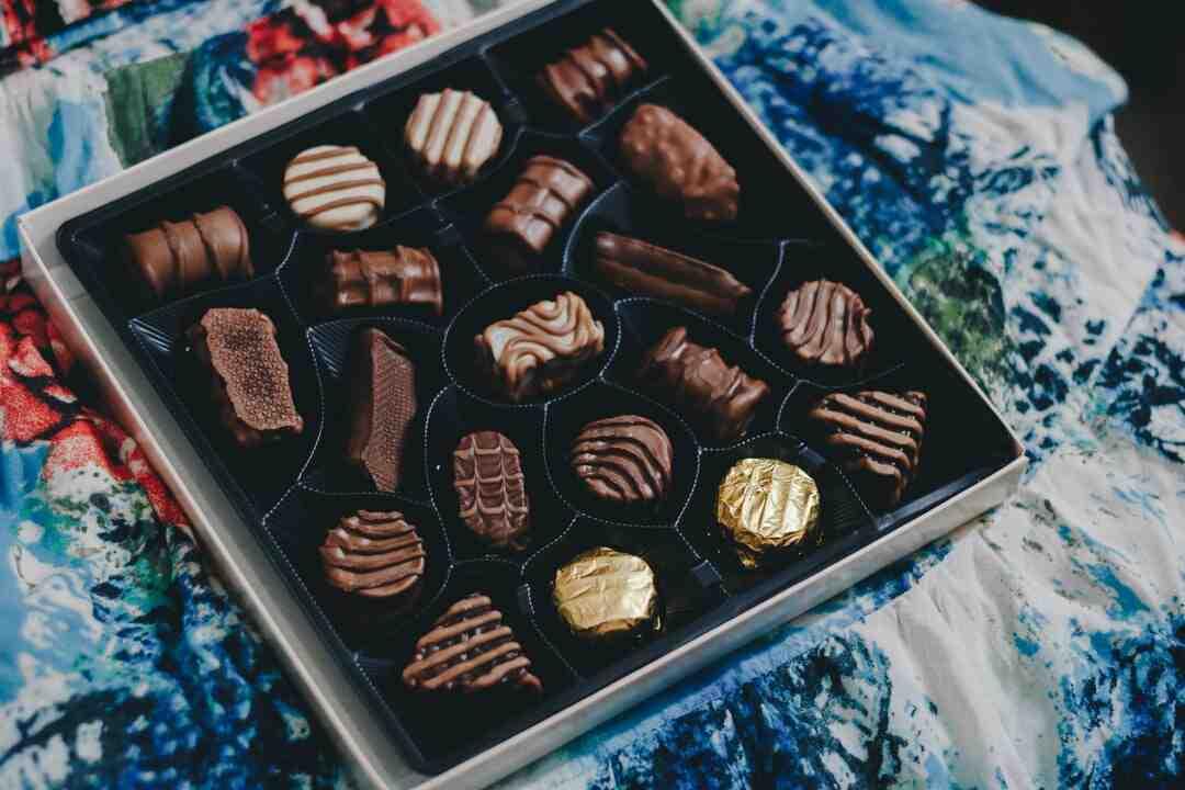 Quelle quantité de chocolat par semaine ?